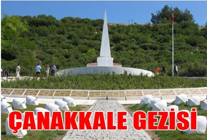 """""""İzciler Lider Oluyor"""" Projesi Kapsamında Çanakkale Gezisi"""