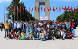 Lidergençlik İzcileri Çanakkale'de