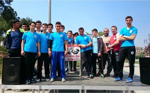 Kocaeli Bilek Güreşi İl Turnuvası Gebze'de Yapıldı.