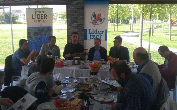 Lider Gençlik Yerel Basın İle Kahvaltı'da Buluştu...