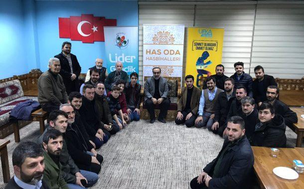 EBUBEKİR SİFİL HAS ODA HASBİHALLERİ'NDE
