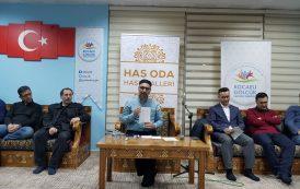 KAB Platformu Başkanı Mehmet Elmaz Has Oda'da...