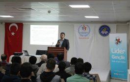 Prof. Dr. Hamza Ateş Üniversiteli Gençlere Hitap Etti