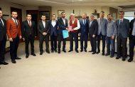 Başkan Karaosmanoğlu'na Ufka Yolculuk Ziyareti